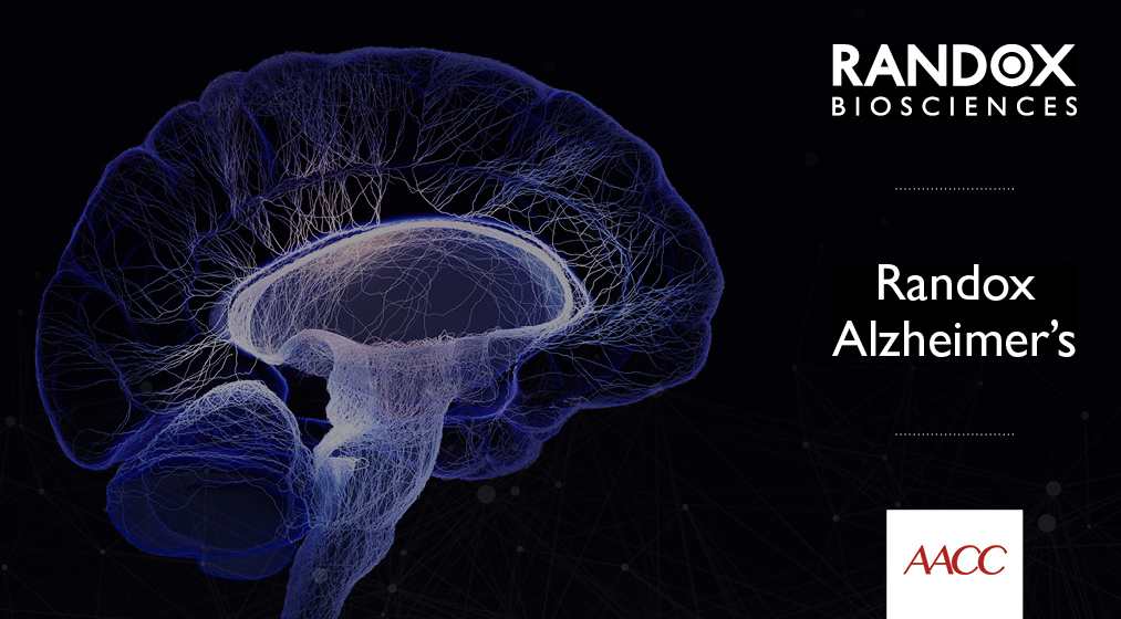 Biochip blood test from Randox Biosciences detects dlevated risk for Alzheimer's disease
