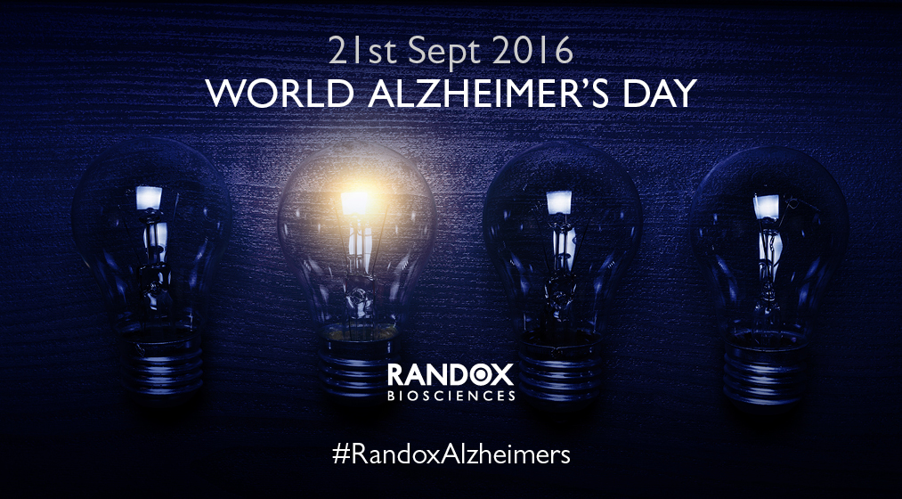 Randox Biosciences World Alzheimer's Day Month September 2016 ADI