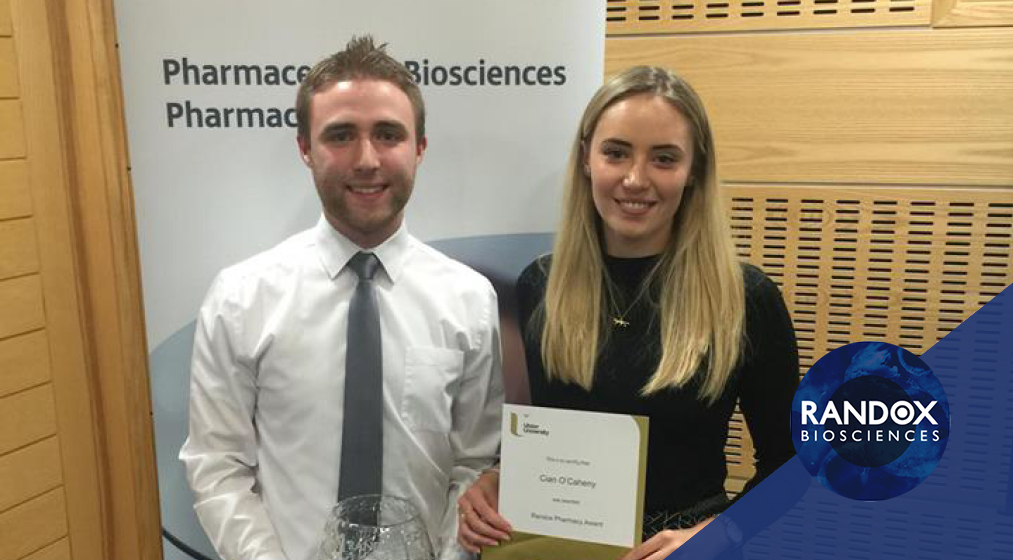 ulster university pharmacology pharmaceutical award randox biosciences coleraine prizegiving