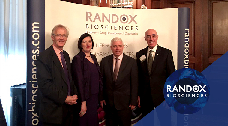 Randox representing businesses in Donegal at Irish American Business Chamber and Network Event in Philadelphia