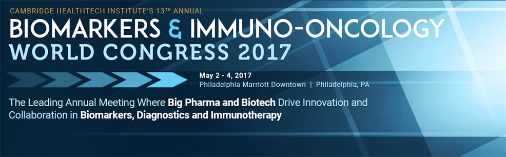 biomarkers immuno oncology world congress may 2017 usa